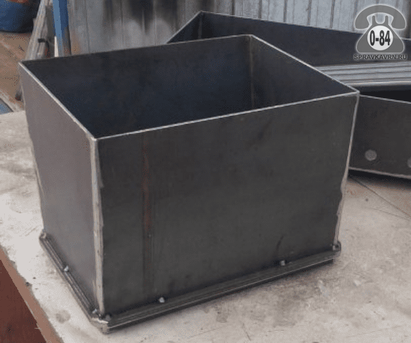 Мангал угольный Вечный 98х36х15 см