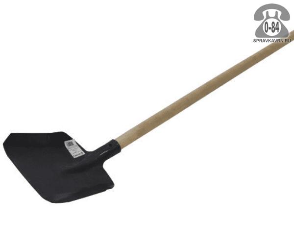 Лопата совковая рельсовая сталь с черенком 1200 мм 40 мм
