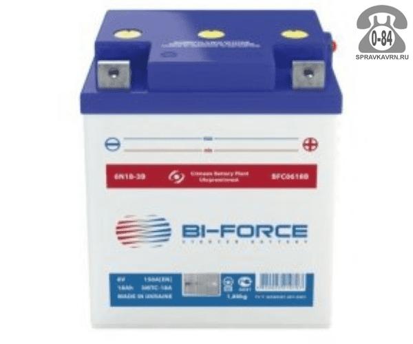 АКБ автомобильная Bi-Force BFC 12 В 20 А*час