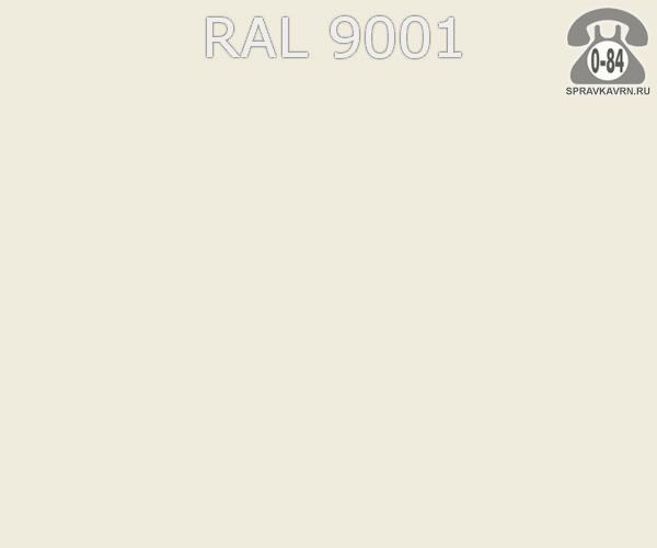 Краска порошковая ФэйХонг (FeiHong) полиэфирная кремово-белый RAL 9001 Китай