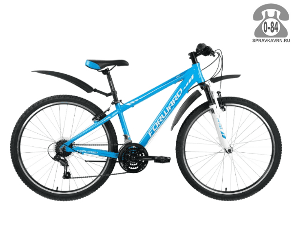 "Велосипед Форвард (Forward) Toronto 1.0 (2017) размер рамы 14.5"" голубой"