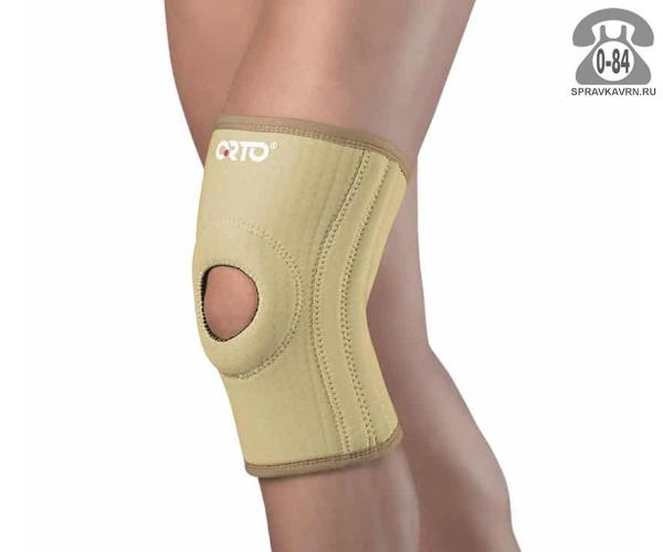Бандаж эластичный коленный Орто (Orto) NKN 200 унисекс