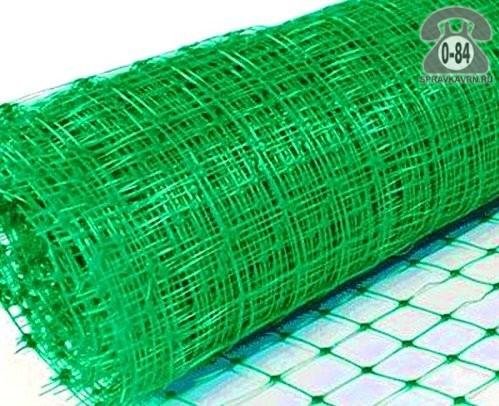 Сетка шпалерная для огурцов пластиковая 2 м 10 м 170 мм 170 мм Россия