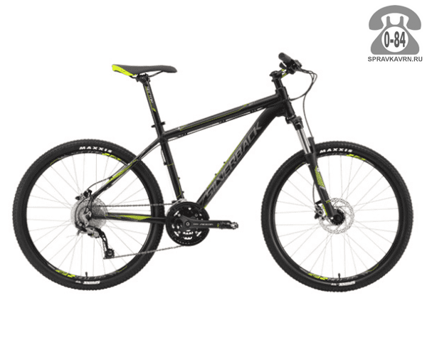 """Велосипед Сильвербэк (Silverback) STRIDE 10 (2016), рама 22.5"""", черный размер рамы 22.5"""" черный"""