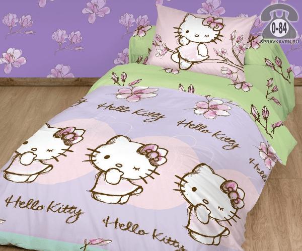 Детское постельное белье Танго (Tango) Hello kitty хлопок