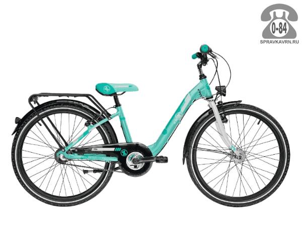 Велосипед Скул (Scool) chiX comp 24 3-S (2017), зеленый