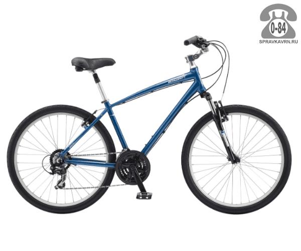 "Велосипед Швин (Schwinn) SIERRA (2017) размер рамы 17.5"" синий"