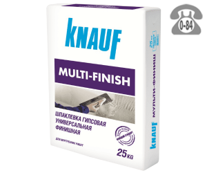 Шпаклёвка Кнауф (Knauf) Multi-Finish 25 кг серая