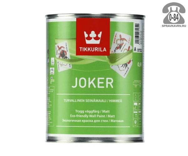 Краска, эмаль Тиккурила (Tikkurila) Joker экологичная 11601338