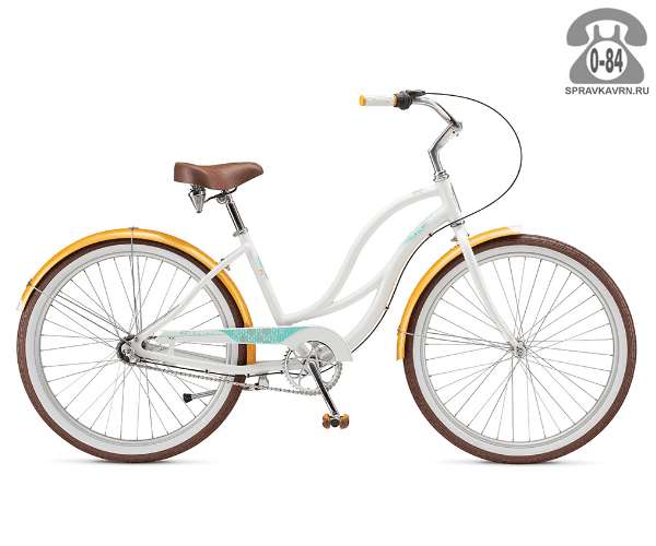 Велосипед Швин (Schwinn) FIESTA (2017) белый