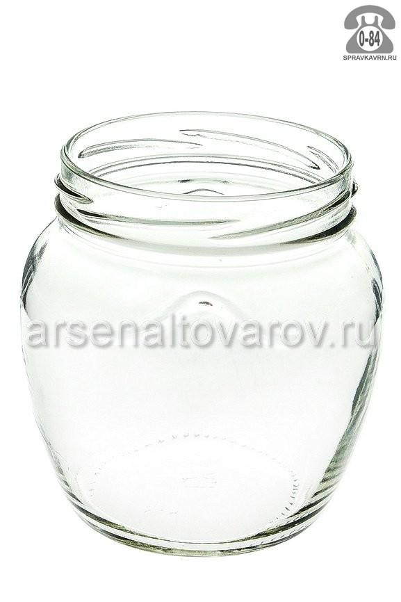 Банка стеклянная Твист-82 фонарь 0.5 л