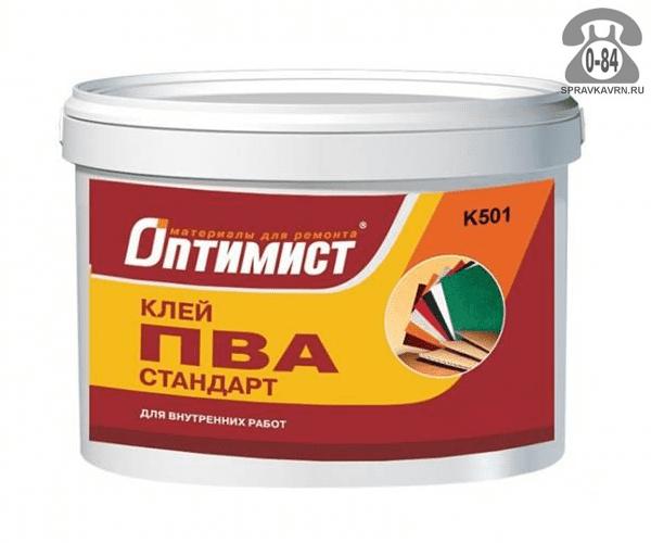 Клей готовый к применению Оптимист ПВА 1 кг