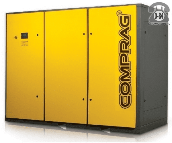 Компрессор Компраг (Comprag) DV-132 132 кВт 10 бар 19400 л/мин 2850*1380*2200