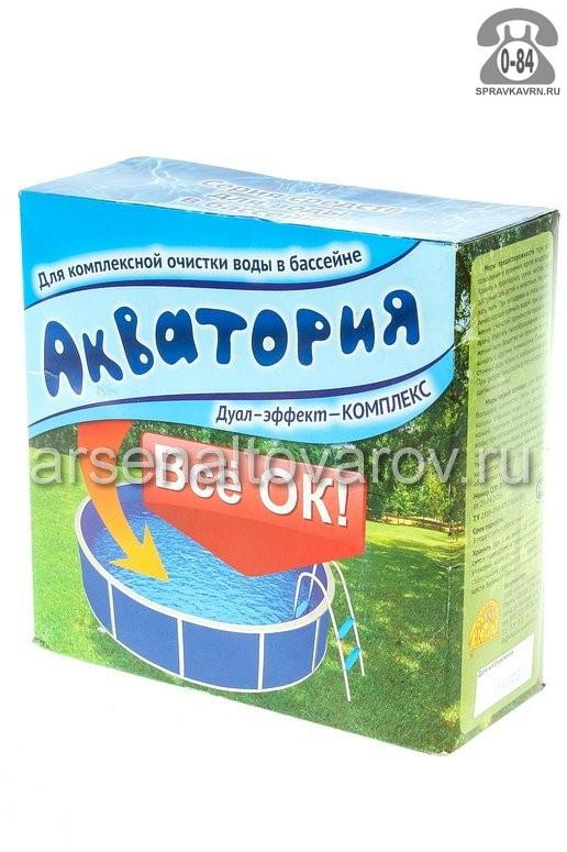 Химический препарат против водорослей в бассейне Акватория Дуал-эффект-комплекс 1.5 кг