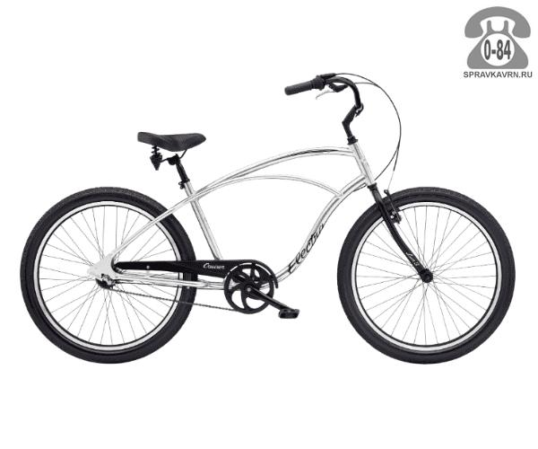 Велосипед Электра (Electra) Cruiser Lux 3i Mens (2016) серый