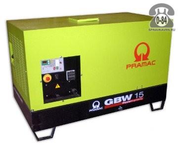 Электростанция Прамак (Pramac) GBW 15 Y двигатель Yanmar