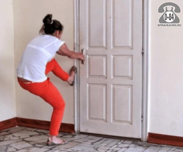 Открыть дверь вызов