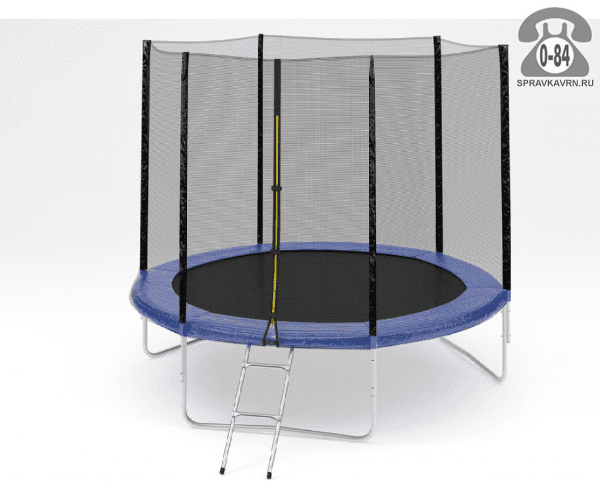 Батут Диамонд Фитнесс (DIAMOND FITNESS) External 10ft (305 см), максимальная нагрузка 150кГ