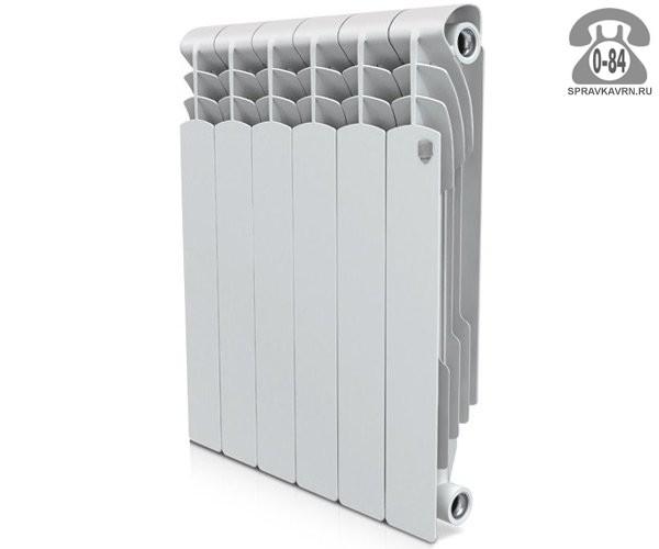 Биметаллический радиатор отопления Роял Термо (Royal Thermo) Революшен Биметалл (Revolution Bimetall) 500 6 секций