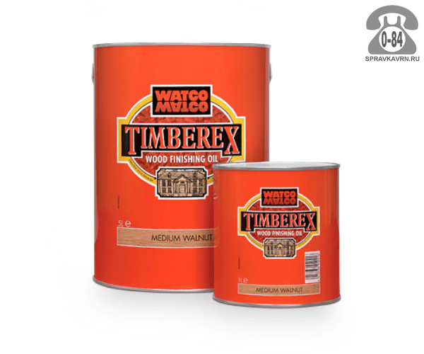 Пропитка Тимберекс (Timberex) масло для дерева защитно-красящий состав 1 л белый для внутренних работ Великобритания