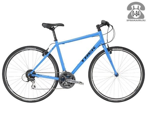 """Велосипед Трек (Trek) 7.2 FX (2016), рама 23"""", белый размер рамы 23"""" белый"""