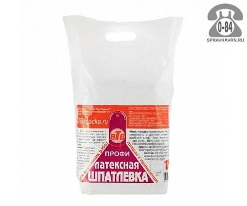 Шпаклёвка ВТВ латексная базовая мешок 15 кг Россия