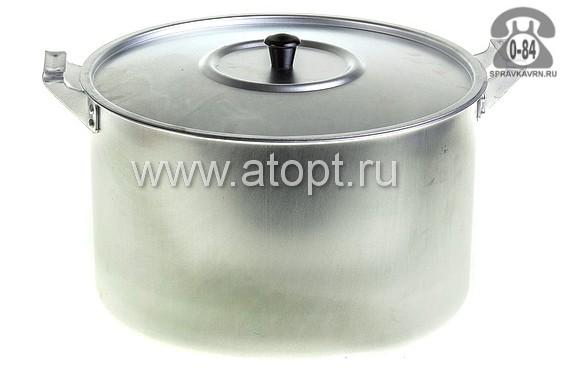 Кастрюля Демидовский, завод МТ-084 алюминиевая 8 л