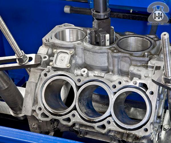 Блок цилиндров двигателя гильзовка легковой без выезда к заказчику ремонт