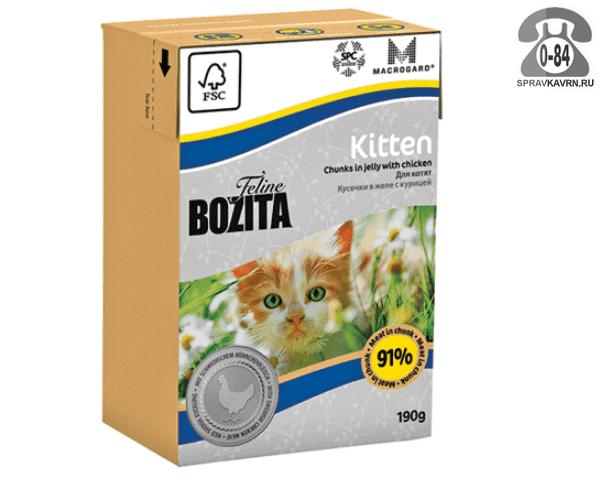 Корм для животных Бозита (Bozita) Bozita mini с курицей (190 г) 2106 с курицей