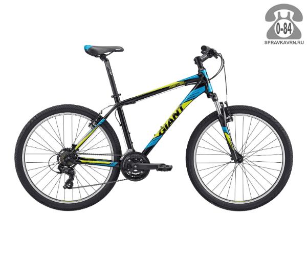 "Велосипед Джайнт (Giant) Revel 2 (2017), рама 22.5"", черный размер рамы 22.5"" черный"