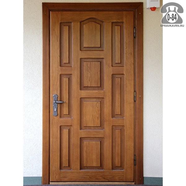 входная дверь перед тамбуром
