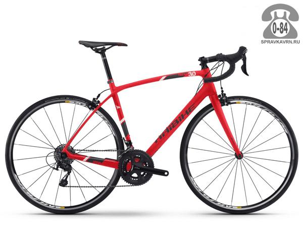 """Велосипед Хайбайк (Haibike) Affair 3.0 (2017), рама 21"""" размер рамы 21"""" красный"""