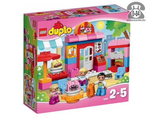 Конструктор Лего (Lego) Duplo 10587 Кафе, количество элементов: 52