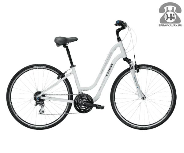 """Велосипед Трек (Trek) Verve 3 WSD (2016), рама 16.5"""", белый размер рамы 16.5"""" белый"""