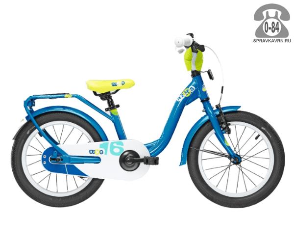 Велосипед Скул (Scool) niXe 16 (2016), голубой
