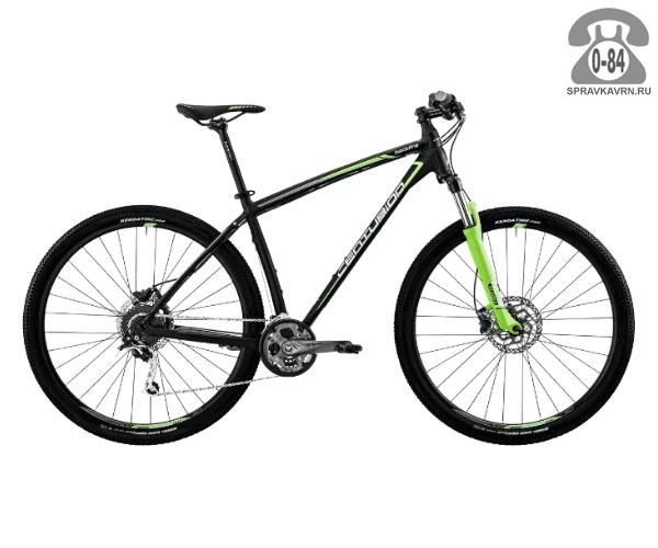 """Велосипед Центурион (Centurion) Backfire Pro 200.27 (2017) размер рамы 19.5"""" черный"""