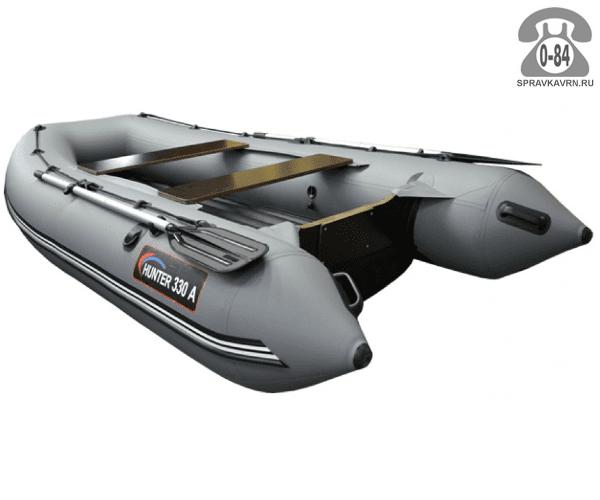 Лодка надувная Hunterboat Хантер 330 А, серый 330201