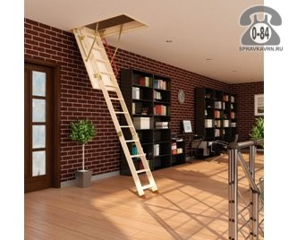 Лестница чердачная деревянная складная