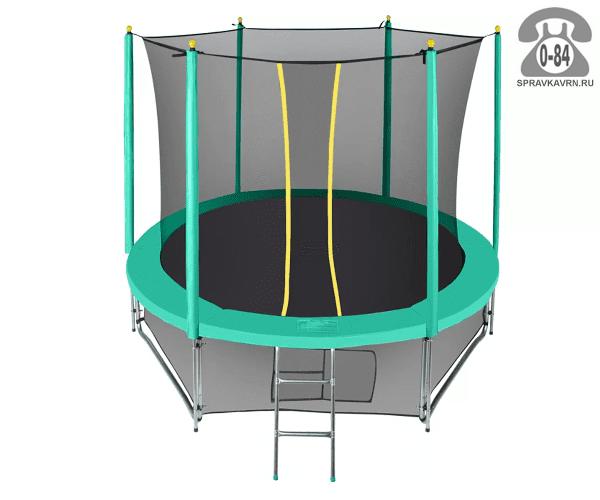 Батут Хастингс (Hasttings) Classic Green (4,6 м), максимальная нагрузка 180кГ