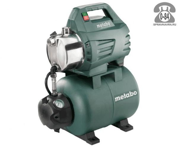 Насосная станция водоснабжения Метабо (Metabo) HWW 3500/25 Inox 3.48 м3/ч