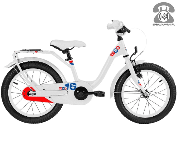 Велосипед Скул (Scool) niXe 16 steel (2017), белый
