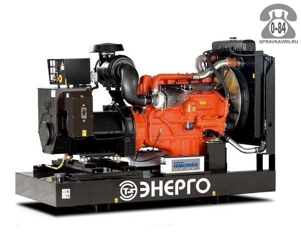 Электростанция Энерго ED 350/400 V двигатель Volvo Penta TAD 1240 GE