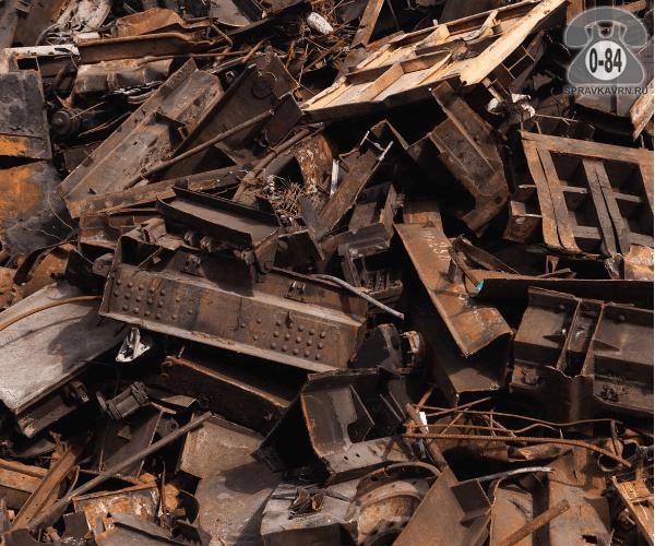 Лом металлов чёрные металлы любой нет нет покупка