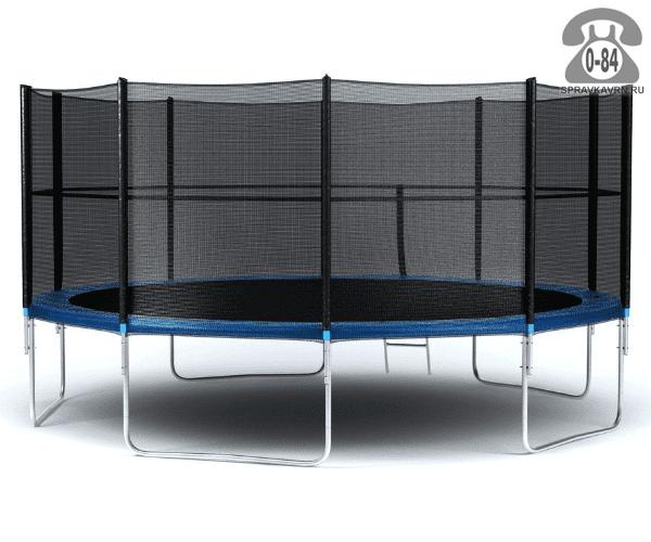 Батут Диамонд Фитнесс (DIAMOND FITNESS) External 16ft (488 см), максимальная нагрузка 160кГ