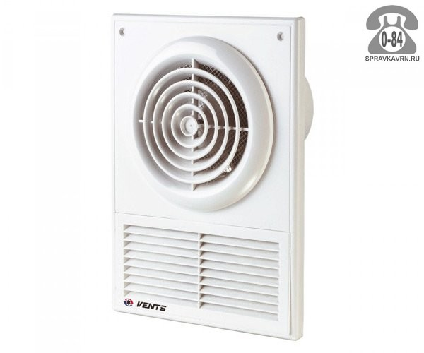 Вентилятор бытовой Вентс (Vents) 100 Ф