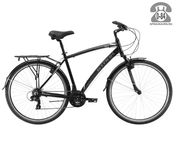 """Велосипед Старк (Stark) Terros 28.1 V (2017), рама 18.5"""" размер рамы 18.5"""" черный"""
