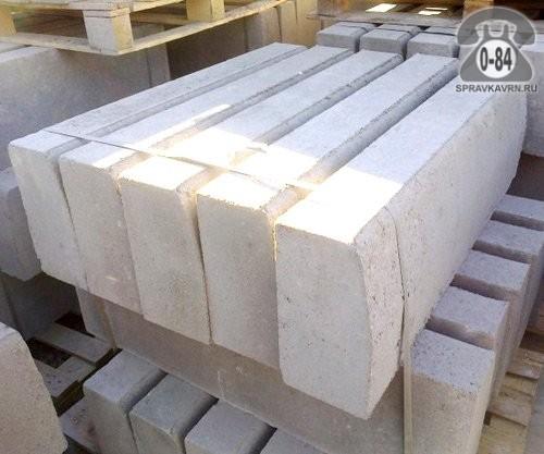 Камень бордюрный Завод ЖБИ Кантемиров для тротуарной плитки вибропрессованный (сухопрессованный)
