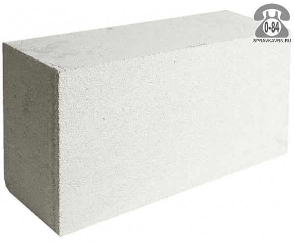 Блок газосиликатный D-500 600x200x290мм г. Липецк, Газобетон 48, ООО