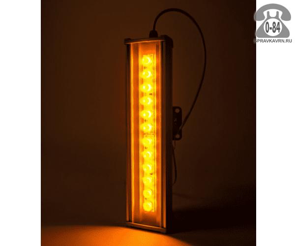 Светильник для архитектурной подсветки Эс-В-Т (SVT) SVT-ARH L-44-10x60-Amber