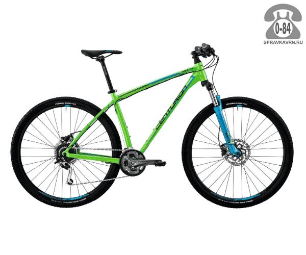 "Велосипед Центурион (Centurion) Backfire Pro 200.29 (2017) размер рамы 19.5"" зеленый"